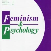 Feminism & Psychology, vol. 29, no. 1, February 2019