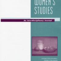 Women's Studies: An Interdisciplinary Journal, vol. 47, nos. 5-7, July-December 2018