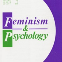 Feminism & Psychology, vol. 28, no.3, August 2018