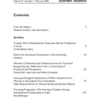 Indian Journal of Gender Studies, vol. 27, no. 1, February 2020