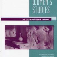 Women's Studies: An Interdisciplinary Journal, vol. 48, nos. 5-8, July-December 2019