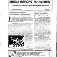 Media Report to Women, vol. 48, no. 4, Fall 2020