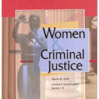 Women & Criminal Justice, vol. 30, nos. 1-6, 2020