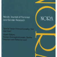 NORA: Nordic Journal of Feminist and Gender Research, vol. 28, no. 3, 2020
