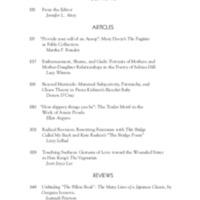 Tulsa Studies in Women's Literature, vol. 39, no. 2, Fall 2020
