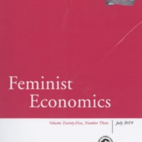 Feminist Economics, vol. 25, no. 3, July 2019